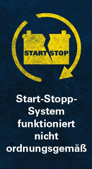 Icon Start-Stopp-System fällt aus